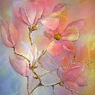 Pink Magnolia von bevmorgan