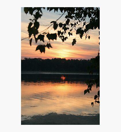 Mississippi sunset Photographic Print