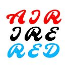 Air Ire Red by alannarwhitney