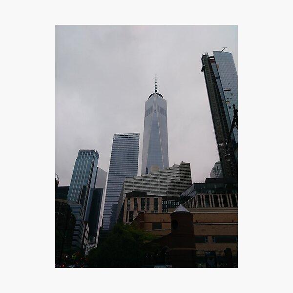 Corporate headquarters, #CorporateHeadquarters, Dark flower, #Dark, #Flower, #DarkFlower, #8st, #NewYork, #Manhattan, #subway, #station, #Windows Photographic Print