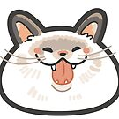 BurpStickers 2018 Blissful Cat by Leonie Yue