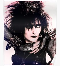Siouxsie Sioux - Siouxsie and the Banshees Poster