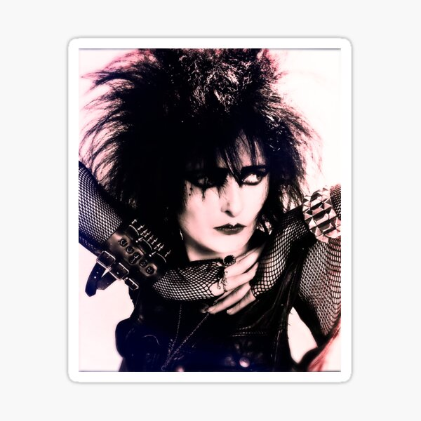 Siouxsie Sioux - Siouxsie and the Banshees Sticker