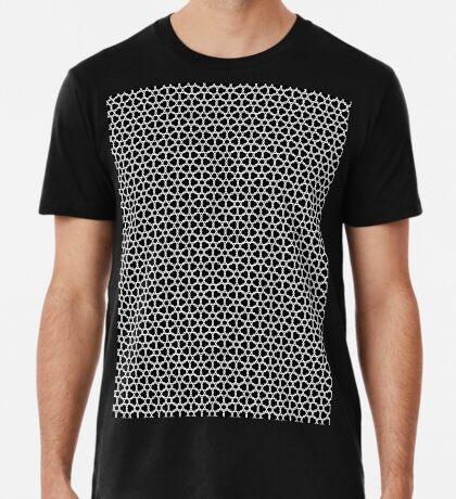 Hexagons Pattern by Wyn Premium T-Shirt