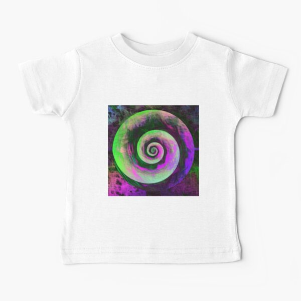 Abstract galaxy spiral Baby T-Shirt