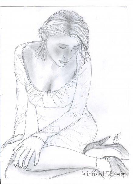 the dress by Michael Skeard