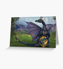 Dragon strong Greeting Card