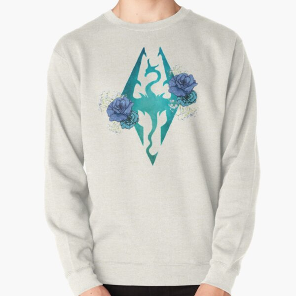 Rose Dragonborn Pullover Sweatshirt