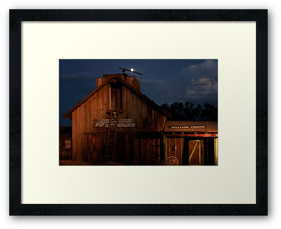 The Old Barn by Christine Till  @    CT-Graphics