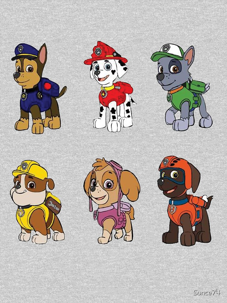 980d161e2f8 PAW Patrol Characters | Women's Fitted Scoop T-Shirt
