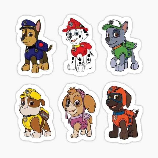 PAW Patrol Characters Sticker