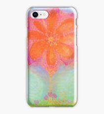 chakra...flowers in my heart iPhone Case/Skin