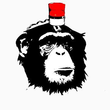 Monkey alert  by Sandmann