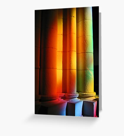 Rainbow cathedral Greeting Card