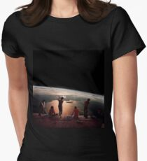 GOLFERS. Womens Fitted T-Shirt