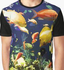 Blue Marine Graphic T-Shirt
