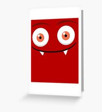 Funky monsters Greeting Card