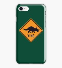 Prehistoric Xing - Triceratops iPhone Case/Skin