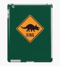 Prehistoric Xing - Triceratops iPad Case/Skin