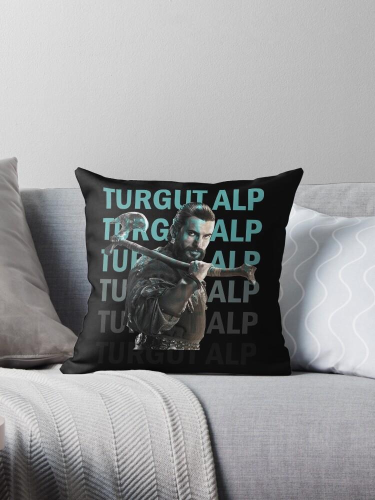 'Dirilis Ertugrul: Turgut Alp' Throw Pillow by ersindesign