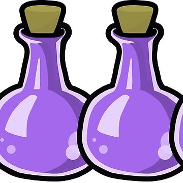 Wizard101 Potions by tiffanyPS