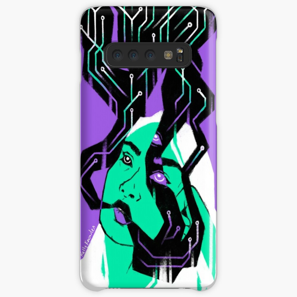 Glitch Witch Cases & Skins for Samsung Galaxy