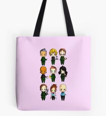 Chibi Stargate - Full Lineup Tote Bag