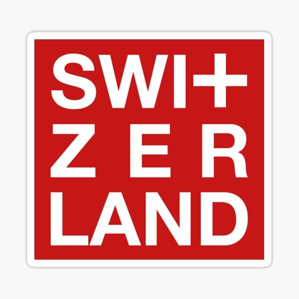 Schweiz Art Swiss Genf Zürich Sticker