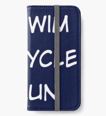 Triathlon iPhone Wallet/Case/Skin