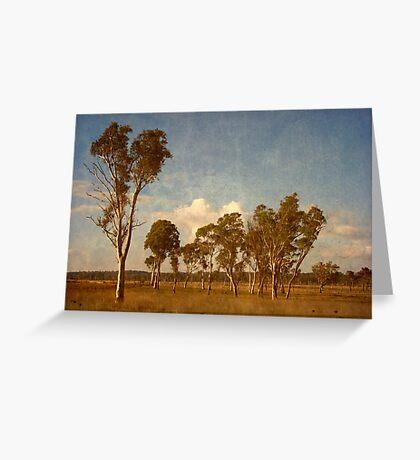 Thunderbolt Country - Uralla, Northern Tablelands, NSW, Australia Greeting Card