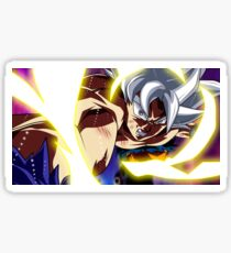 Goku Mastered Ultra Instinct Sticker
