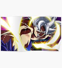 Goku Mastered Ultra Instinct Poster