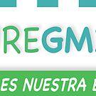 CureGM1 Sticker - Spanish by Rajiv Raman