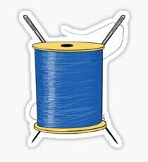 Thread Life Sticker