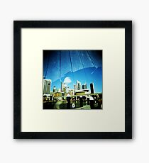 Sky Walker Framed Print