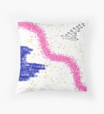 Buntes Design Geschenk Idee Throw Pillow