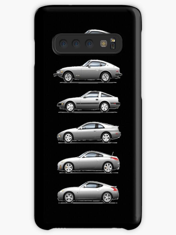 'Nissan Fairlady Z 240Z 280ZX 300ZX 350Z 370Z Evolution Car' Case/Skin for  Samsung Galaxy by merchdesigns