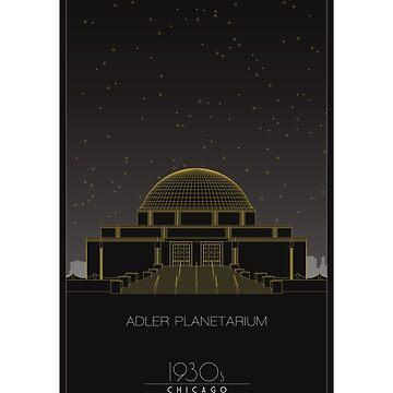 Adler Planetarium by scbb11Sketch