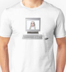 Poppy Computer Tee Design Remake Unisex T-Shirt
