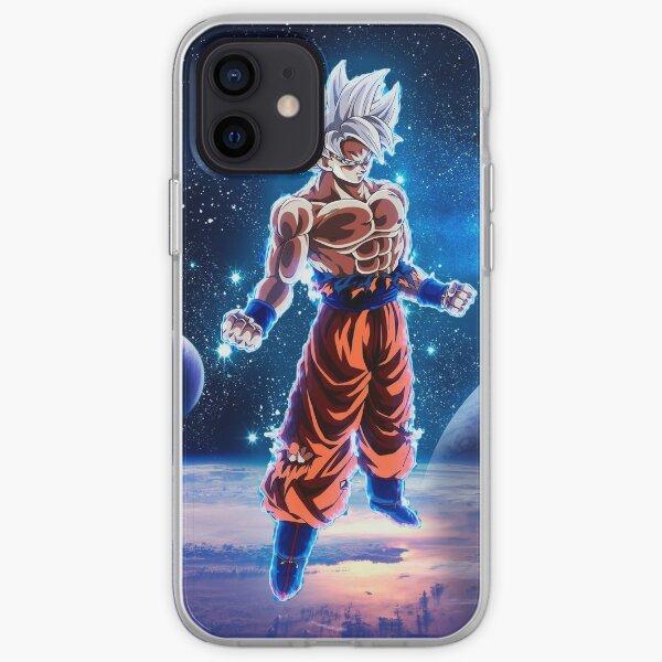 Goku Super Saiyan Azul Funda blanda para iPhone