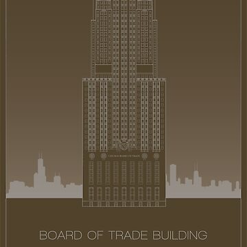 Chicago Board of Trade by scbb11Sketch
