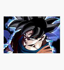 Goku Ultra Instinto  Migatte no Gokui Photographic Print