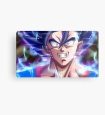 Ultra Instinct Goku Mastered Metal Print