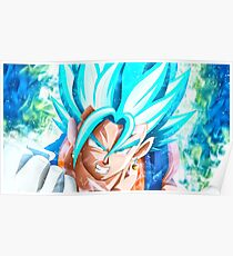 Ultra Instinct Goku Mastered Poster