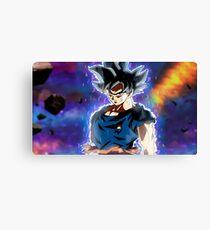 Goku Ultra Instinct - Doctrina egoista Canvas Print