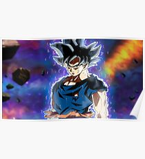Goku Ultra Instinct - Doctrina egoista Poster