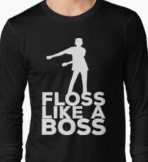 Floss Like A Boss Dance T-Shirt Long Sleeve T-Shirt