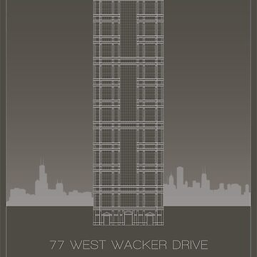 77 West Wacker Drive by scbb11Sketch