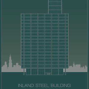 Inland Steel Building by scbb11Sketch