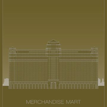 Merchandise Mart by scbb11Sketch